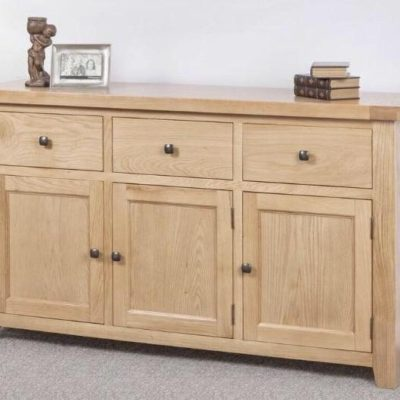 Abbie large oak sideboard