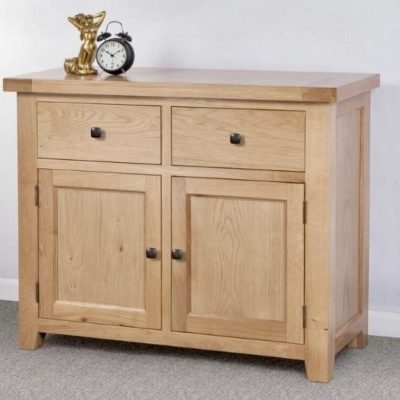 abbie oak small sideboard