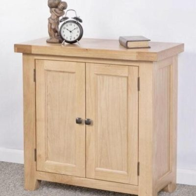 Abbie small oak cabinet main