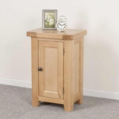 Abbie small oak storage cupboard main