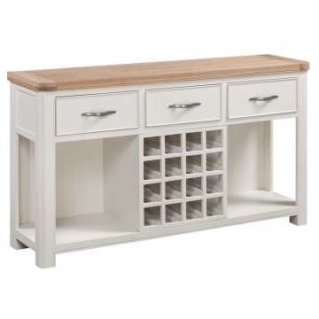 STOW PAINTED OPEN SIDEBOARD MAIN
