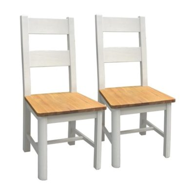 stow painted dining chairs