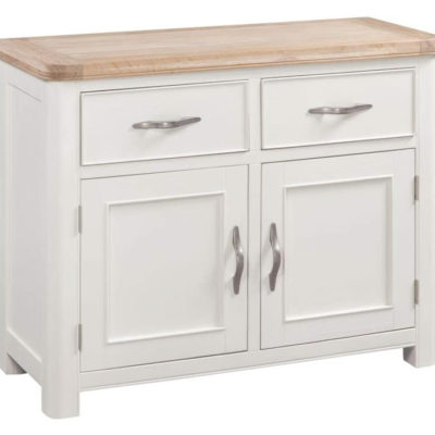 stow painted small 2 door sideboard